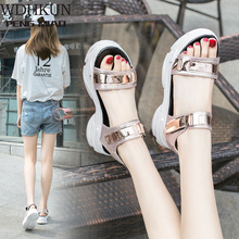 Sexy Open-toed Women Sport Sandals Wedge Hollow Out