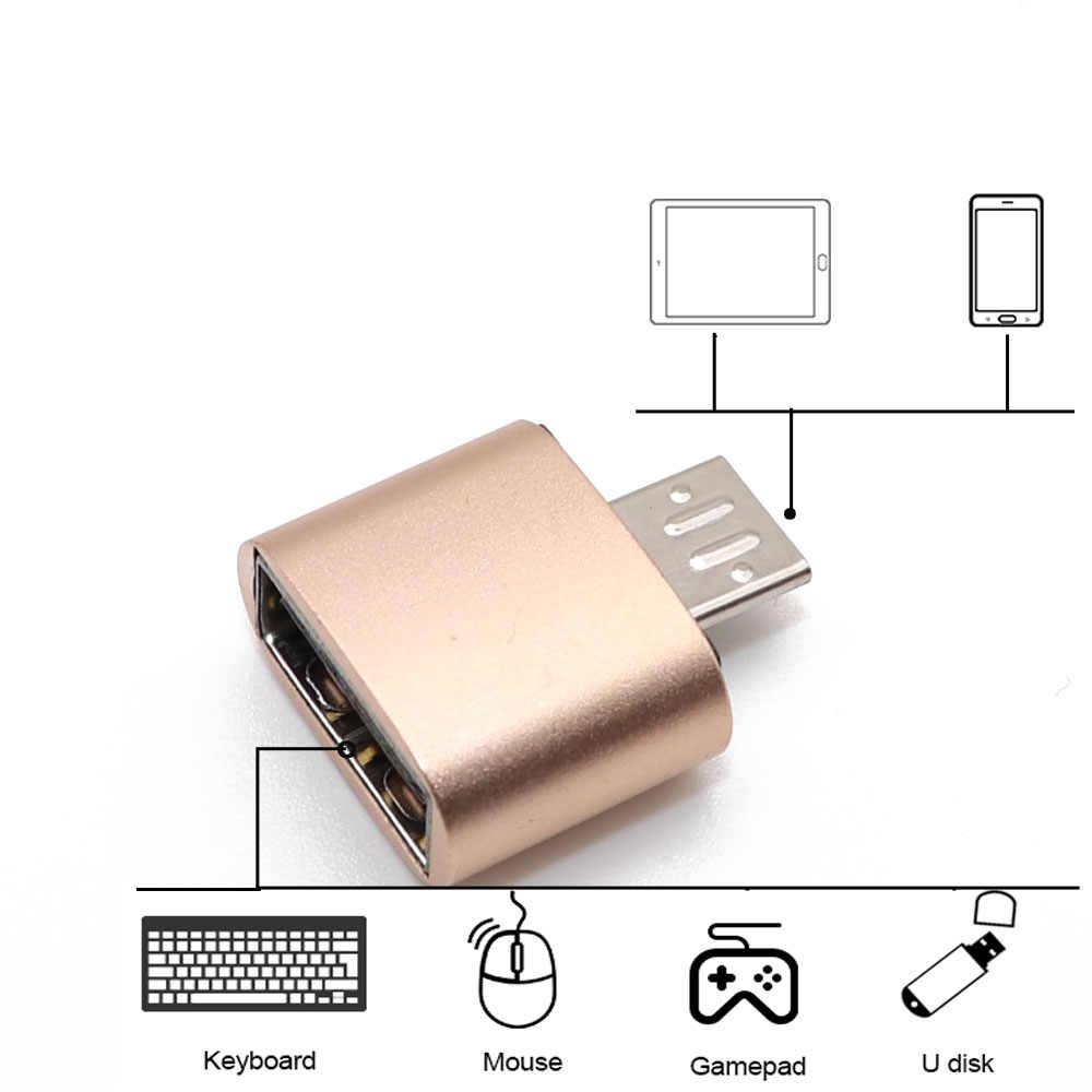 OTG Adapter Micro USB Kabel OTG USB Kabel USB Mikro untuk USB untuk Samsung untuk LG untuk Sony untuk Xiaomi ponsel Android untuk Flash Drive