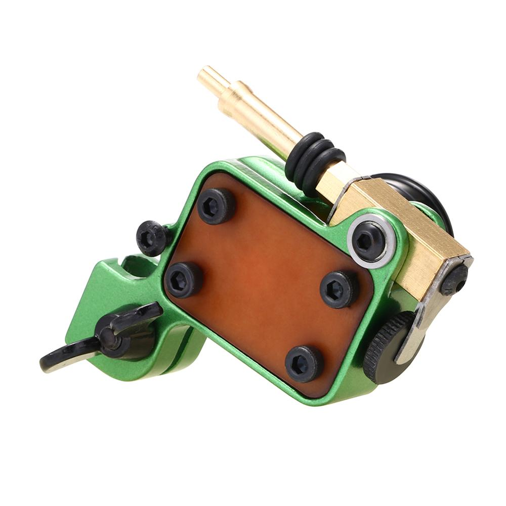 Rotary Tattoo Machine Japanese Motor Aluminium Alloy Frame(green)
