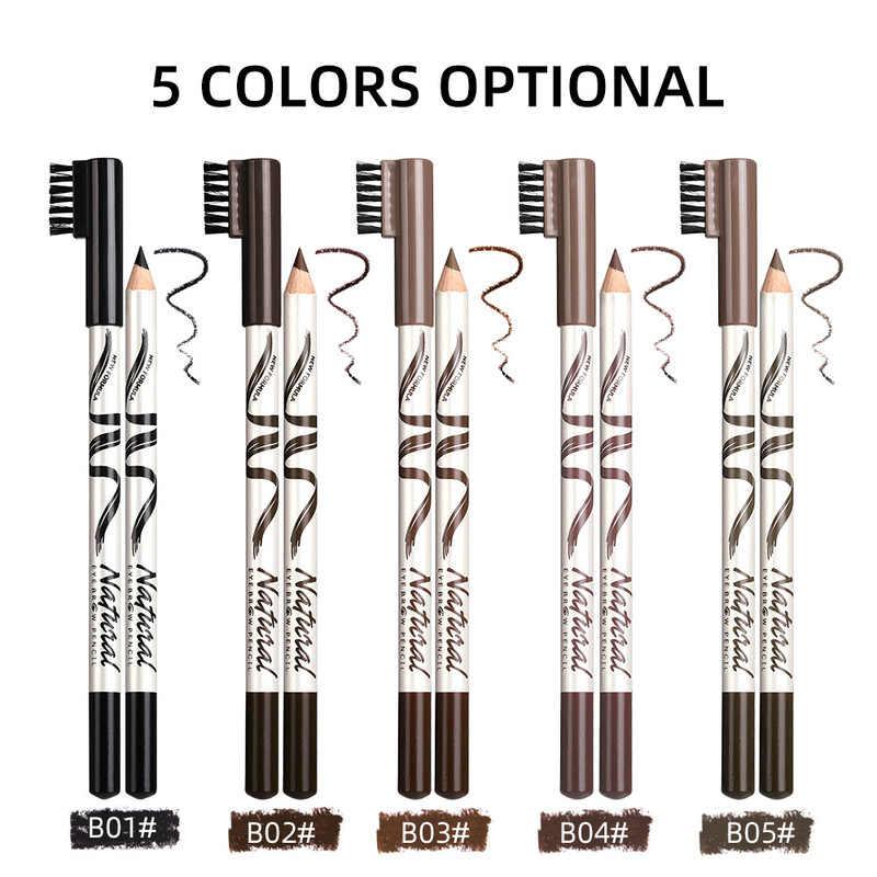 Menow sobrancelha lápis sobrancelha marcador à prova dwaterproof água sobrancelha tatuagem para sobrancelhas 4 cores enhancer tintura caneta longa duração