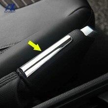 Chrom Hand Bremse Handbremse Griff Abdeckung Trim Aufkleber Garnieren Dekoration Für Ford Focus 2 3 2009 - 2013 2014 2015 2016 2017