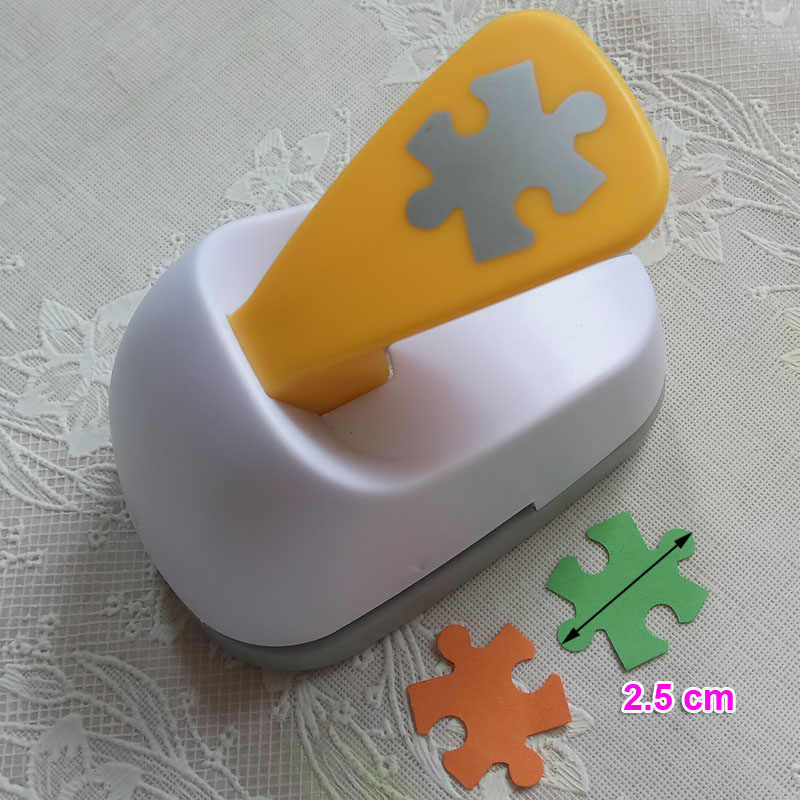 25 millimetri Di Puzzle risparmiare energia di carta schiuma eva craft punch Scrapbook Fatti A Mano puncher DIY animale punzonatrici