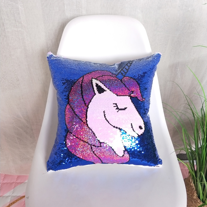 Liv Esthete Fashion Sequin Cushion Cover Decorative Cushion Luxury Square Pillow Cover For Sofa Bed Car Home 45x45cm Gift in Cushion Cover from Home Garden