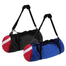 Mesh Duffel Backpack Dive Equipment Bag for Scuba Diving Snorkeling Gym Blue