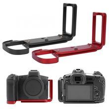 L em forma de metal placa de liberação rápida suporte aperto de mão para canon EOS R mirrorless câmera l suporte para canon EOS R acessórios