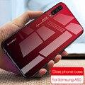Градиентный чехол из закаленного стекла для телефона для samsung Galaxy A50 A70 A51 A71 чехол для samsung A50 A 50 Fundas Coque SM A70 задняя крышка
