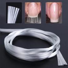 Extension d'ongles en fibre de verre pour le nail art DIY, allongement en gel UV, outils de manucure et pédicure, 5 m,