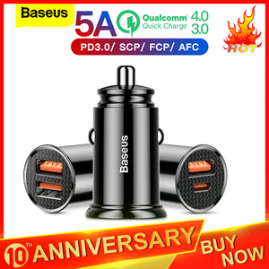 Baseus Quick Charge 4.0 3.0 US