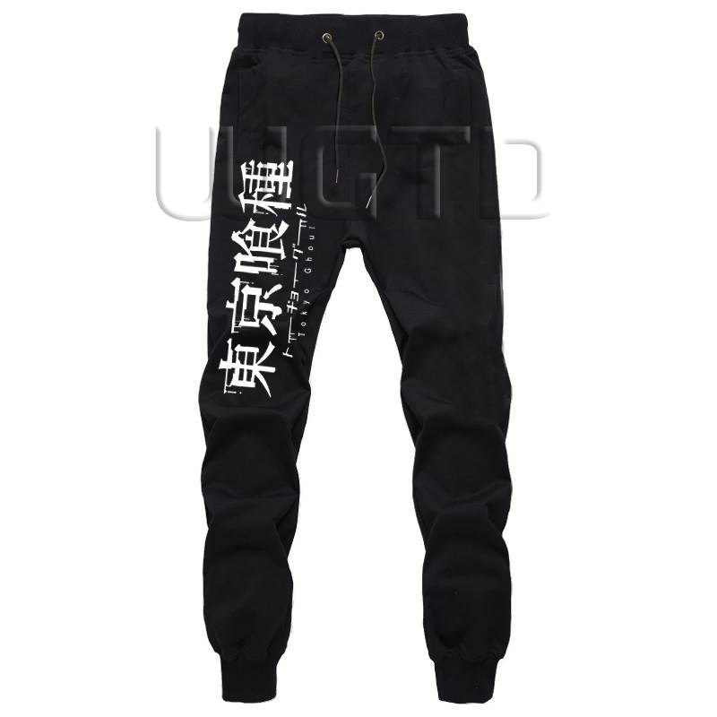 Tokyo Ghoul Kaneki Ken Men Sportswear Pants Fitness Trousers Harem Pants Workout Sweatpants Autumn Winter Joggers Casual Pants