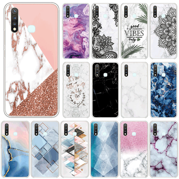 Marble TPU Case For vivo Y19 4G U3 Y5S Silicone Cover For vivoY19 Y 19 vivoU3 U 3 vivoY5S Y 5S 6.53 Phone Cases Fundas Coque image