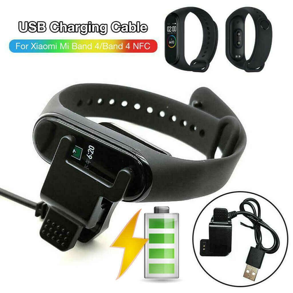 ساعة ذكية حوض شحن USB وصلة كابل مهايئ شاحن استبدال ل Xiao mi mi الفرقة 4 الذكية معصمه اكسسوارات