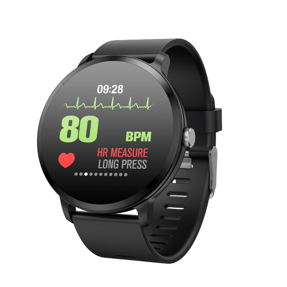 Smart Fashion Watch Big Heart Rate And Blood Pressure Monitoring Information Intelligent Reminder Sports Waterproof Bracelet