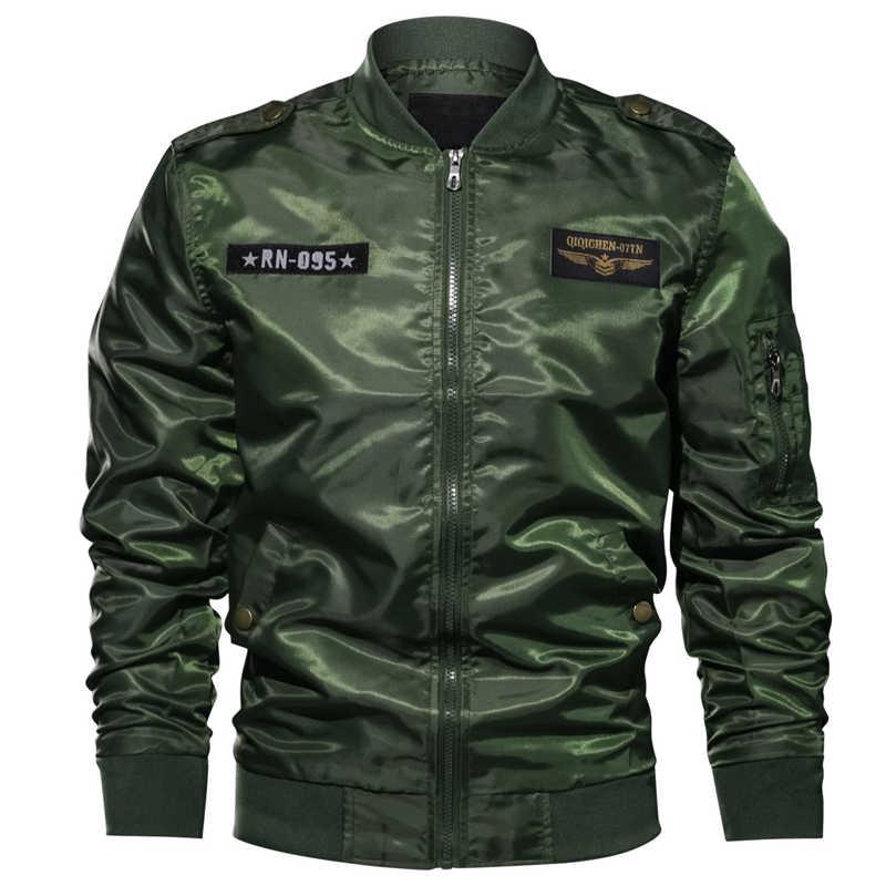 Styl europejski mężczyzna kurtki-pilotki płaszcze Pilot mężczyzna kurtka i płaszcze 6XL walki męskie płaszcze letnie hafty Streetwear A636