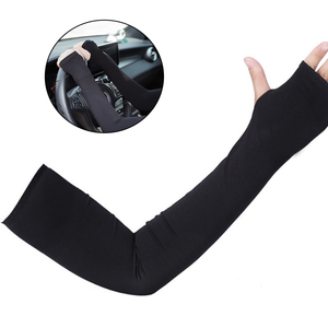 1 pair thumb ice sleeve double arm sun protection sleeve UV protection suitable for bike running fishing climbing outdoor sports