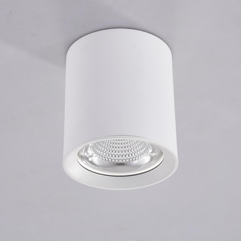 Современный потолочный светильник s светодиодный светильник 5W7W10W Точечный светильник бар лампы алюминиевый потолочный светильник COB светодиодный светильник ing для спальни гостиной
