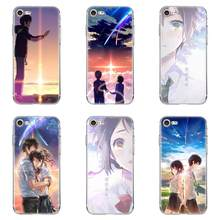 Anda Anime Jepang untuk iPhone 4 4S 5 5C 5S SE 6 6S 7 7 Plus X lembut Silicone TPU Transparan Fashion Cell Phone Cover Case(China)