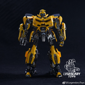 Image 2 - Legendary Transformation Robot LTS 03C LT 01 LT01 Yellow Bee KO MPM03 MPM 03 Alloy Edition Movie Upgade Action Figure Model Toys