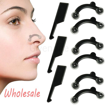 4/6/8PCS Nose Corrector Profession Nose Up Shaping Shaper Straightening Bridge Nose Clip No Pain Beauty Face Massage Tools