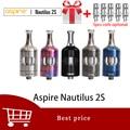 Gratis gift Aspire Nautilus 2s tank 2.6 ml/2 ml Vaporizer Verstuiver Top vullen Nautilus 2s MTL tank Nautilus bvc coils vs nautilus 2