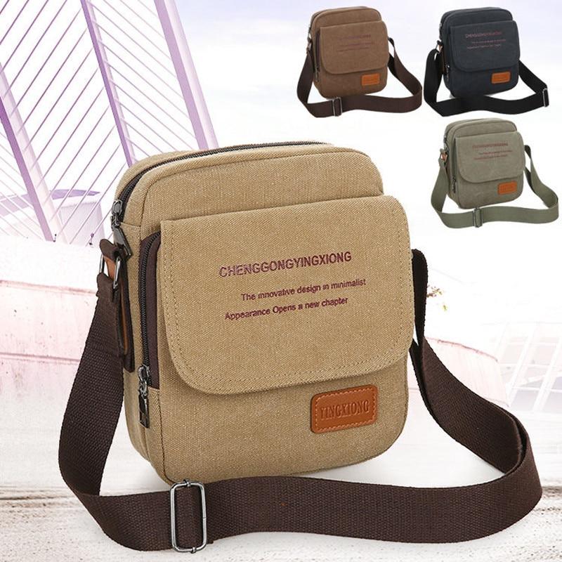 Canvas Crossbody Handbags Zipper Travel