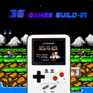 Image 2 - Retro Tetris Game Case for Samsung Galaxy S 10 S10 Gameboy Phone Case for Galaxy Note 10 Plus Led Display Cover with Games Class