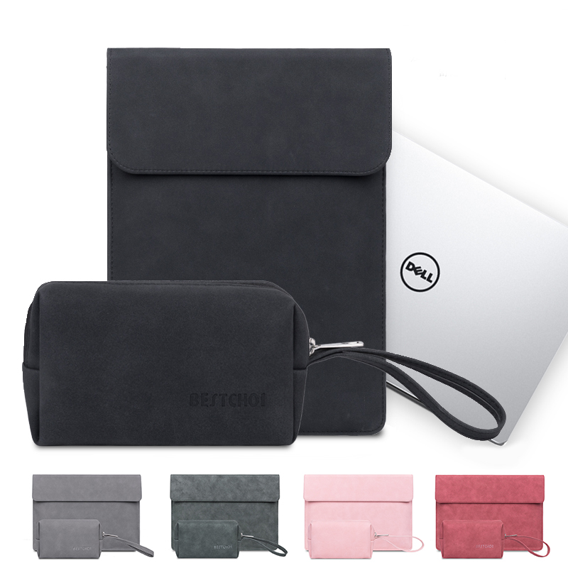 Laptop Sleeve for Dell XPS 13 7390 9380 9370 9300 9350 9360 9365 9343 Case Notebook Bag for Dell XPS 15 9550 9560 <font><b>9570</b></font> 9575 7590 image