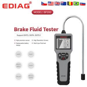 Image 1 - 2021 EDIAG BF200 araba fren hidroliği test cihazı fren hidroliği dijital test cihazı lastik basıncı izleme masa BF200/BF100