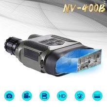 Инфракрасный цифровой охотничий бинокль ночного видения 2,0 ЖК-сверхбольшой дисплей 400M 7X31 Видеокамера с телескопом NV400B Оптика