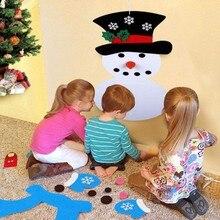 DIY Felt Snowman