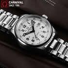 Carnaval T25 Tritium lumineux montre hommes militaires hommes montres haut de gamme de luxe Quartz montre bracelet mâle horloge Reloj Hombre 2019 - 4