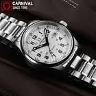 Carnaval t25 tritium luminoso relógio masculino militar dos homens relógios de luxo da marca superior quartzo relógio masculino reloj hombre 2019 - 4