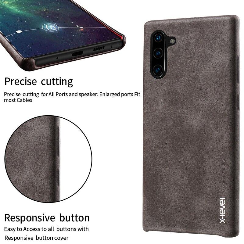 X-Level Case For Note Plus Samsung Galaxy Vingate Pro Capa 10-Pro 9 Brand