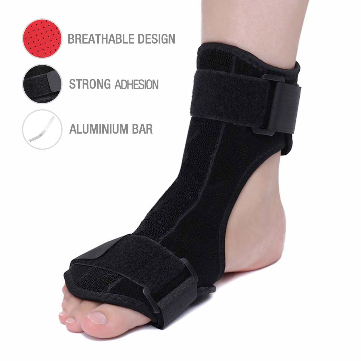 Plantar Fasciitis Night Splint Ankle Brace Support Foot Orthosis Adjustable Adult Drop Foot Heel Pain Pain Relief
