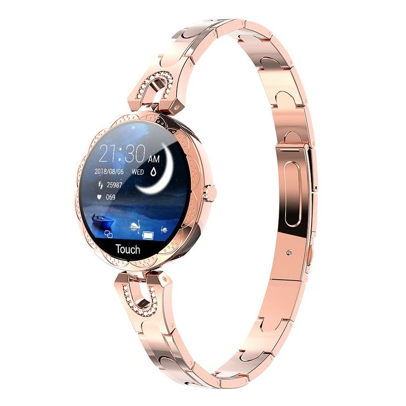 AK15 Smart watch women wristband Fitness bracelet Heart Rate tracker Blood pressure Monitor for gift girl fashion band bracelet