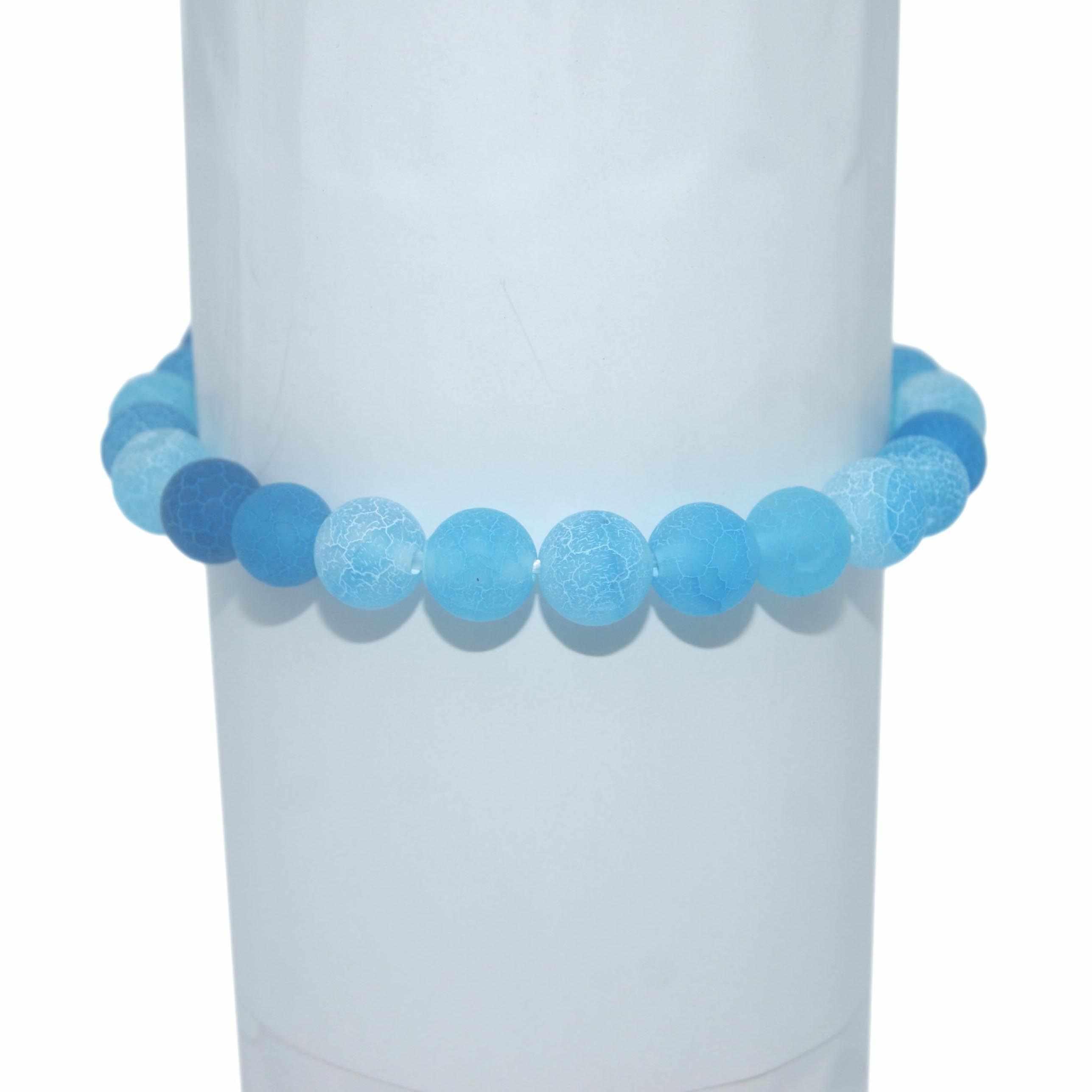 Hurtownie 6 8 10 MM koraliki z kamienia naturalnego agaty tygrysie oko kryształ Jades pary bransoletki dla kobiet mężczyzn bransoletka joga Femme