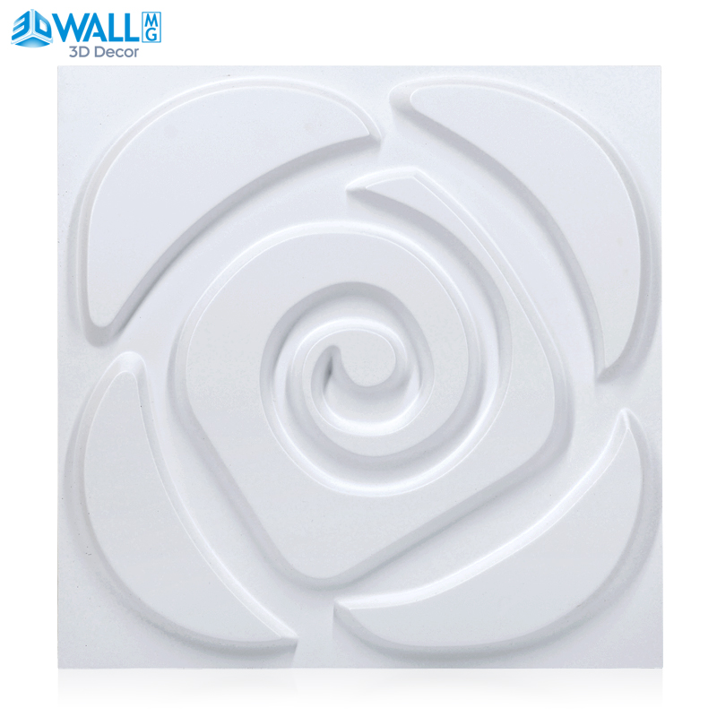 30x30cm 3D wall panel Wedding House Rose flower Pink Wall 3d Wall Sticker ceiling Wall covering Home Decor Decorative Commerce