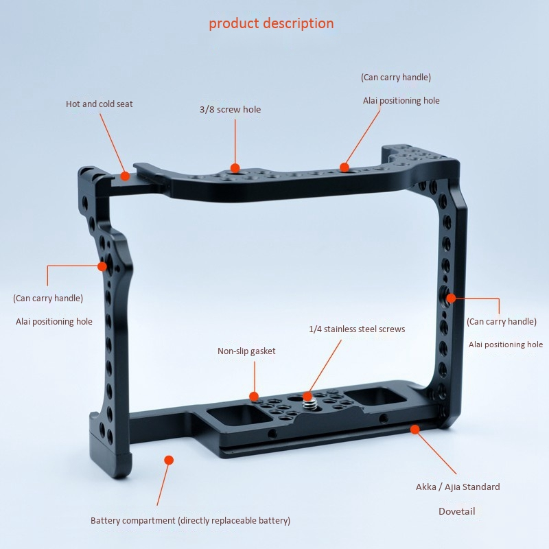 Canon EOS R qəfəsi üçün, Canon EOS R kamera kassası üçün - Kamera və foto - Fotoqrafiya 2