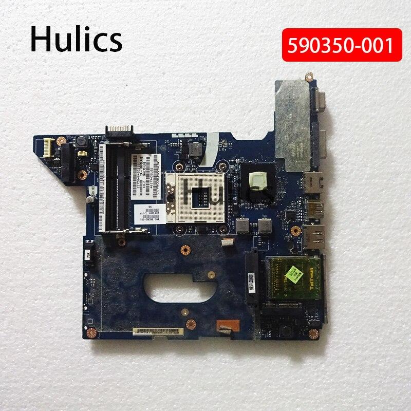 Hulics оригинал для струйного принтера HP PAVILION DV4-2000 DV4-2100 Материнская плата ноутбука 590350-001 аккумулятор большой емкости NAL70 LA-4106P HM55 s989