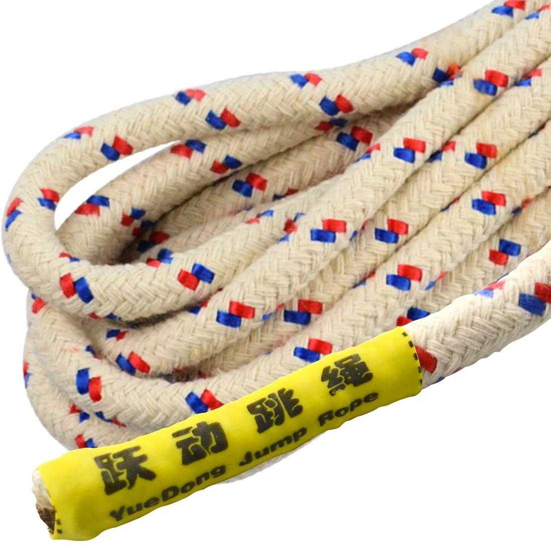 Cotton Yarn Weaving Medium-small School Sports Exam Weaving Environmentally Friendly Jump Rope Fitness Cotton Rope Core Rope