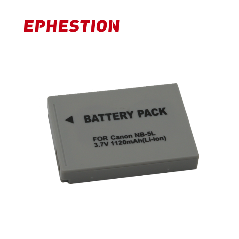 EPHESTION NB-5L NB 5L NB5L Battery For Canon SX200is SX220HS SX230HS CB-2LXE PowerShot S100 S110 SD950 SD970 High Capacity