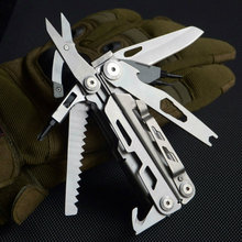 2019 high quality multi functional folding plier outdoor camping tool multi tool long nose hand tool stainless combination plier platel plier high quality tool locking combination pliers steel tie fasten tool