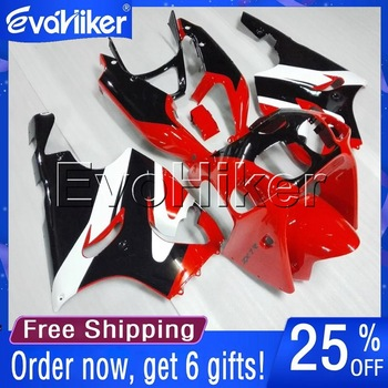 Custom motorcycle plastic cover for ZX7R 1996 1997 1998 1999 2000 2001 2002 2003 ABS fairing red white black+gifts