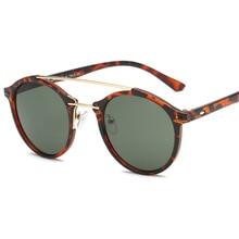 2020 старинные новый ретро круглая солнцезащитные очки мужчин и женщин классический бренд дизайнер мода солнцезащитные очки зеркало солнечные очки UV400 Джонни Депп стиль