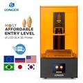 Longer Orange 10 LCD 3D Drucker Erschwinglichen SLA 3D Drucker Metall Körper Verbesserte Z Achse Smart Unterstützung UV Harz Drucker SLA 3D Printer-in 3-D-Drucker aus Computer und Büro bei