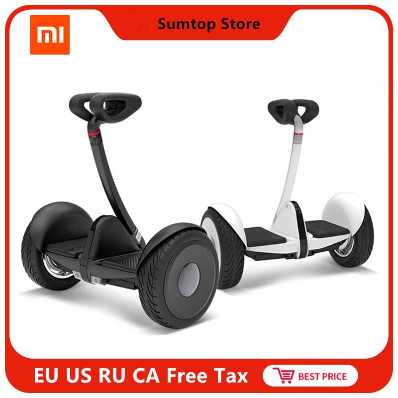 Оригинальный xiaomi mini ninebot умный самобалансирующийся скутер электрический 2 двухколесный скейтборд Ховерборд 10 дюймов Ховерборд
