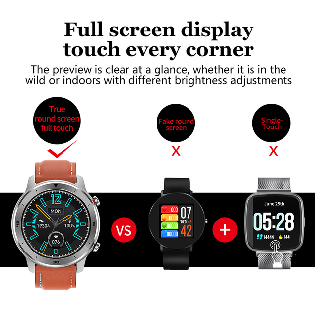 Smart Watches for Men Bracelet Fitness Activity Tracker Wearable Devices Best Waterproof smart watch 5