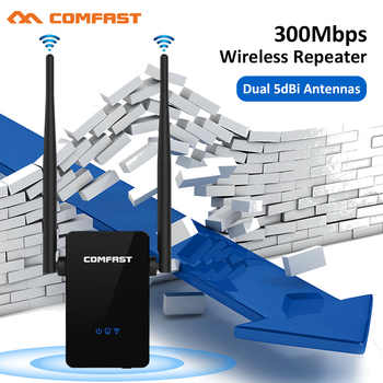 Comfast CF-WR302SV2 Strong Signal WI FI Amplifier Router 300M Wireless Wi-Fi Repeater Network Router 10dbi Antenna Wifi Access - DISCOUNT ITEM  21 OFF Computer & Office
