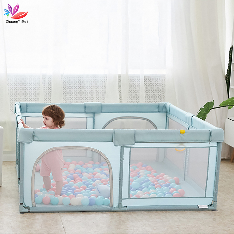 Baby Playpen For Children Pool Balls For Newborn Baby Fence Playpen For Baby Pool Children Playpen Kids Safety Barrier Balls Pit