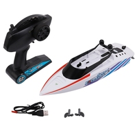 RC Boat 2.4GHZ 4 Channel Radio Remote Control High Speed RC Racing Boat Electric Ship RC Toys for Adults & Kids