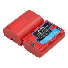 2800 mAh LP E6 LP E6N แบบชาร์จไฟได้แบตเตอรี่พอร์ต USB สำหรับ Canon EOS 5DS 5D Mark II Mark III 6D 7D 60D 60Da 70D 80D